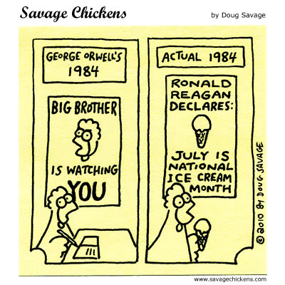 Savage Chickens - 1984