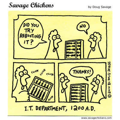 Savage Chickens - Abacus