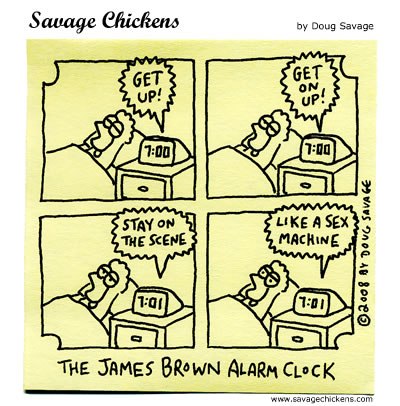 Savage Chickens - Alarm Clock