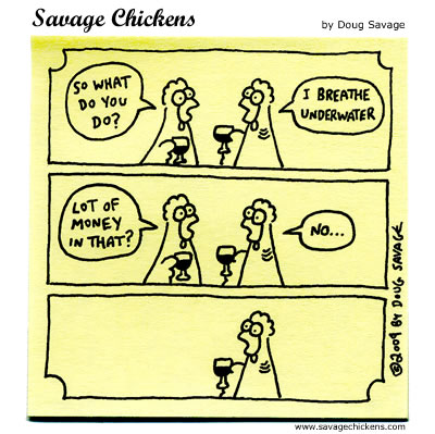 Savage Chickens - Small Talk
