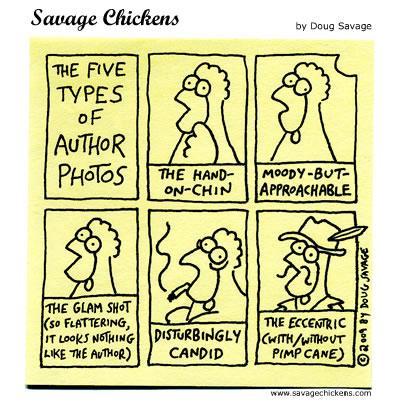 Savage Chickens - Author Photos