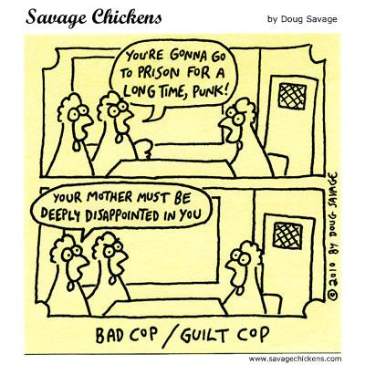 Savage Chickens - Interrogated