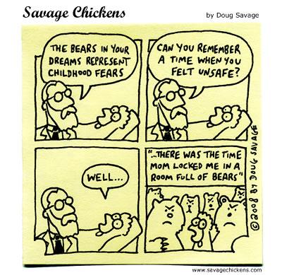 Savage Chickens - Bears