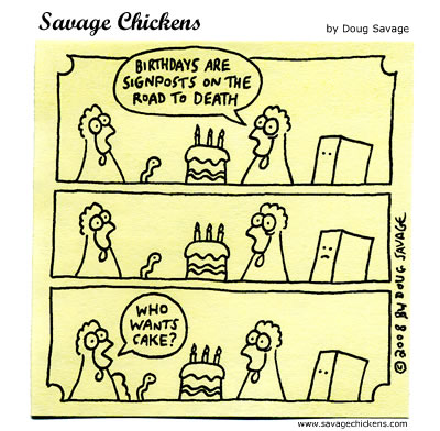 Savage Chickens - Party Pooper