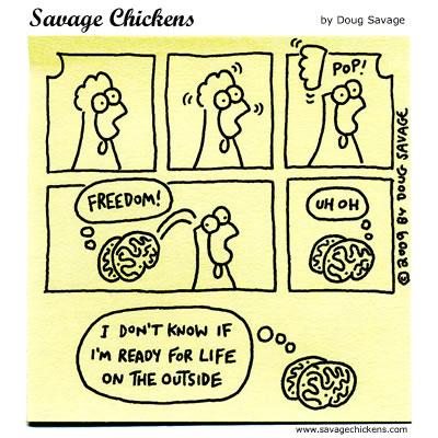 Savage Chickens - Escape!