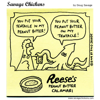 Savage Chickens - From the Snack Bar