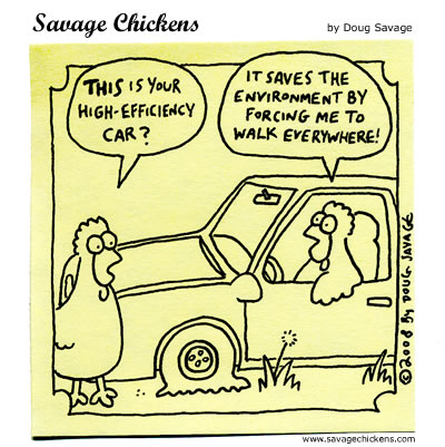 Savage Chickens - High-Efficiency