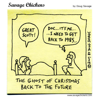Savage Chickens - Another Christmas Carol