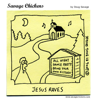 Savage Chickens - Dance Party