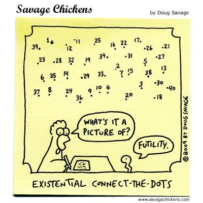 Savage Chickens - Connect the Dots