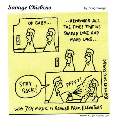 Savage Chickens - Elevator Love