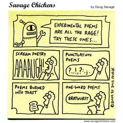 Savage Chickens - Experimental