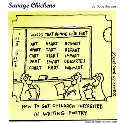 Savage Chickens - Future Poets