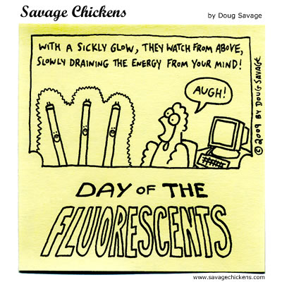 Savage Chickens - They're Watching