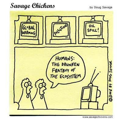 Savage Chickens - Humans