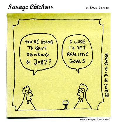 Savage Chickens - Quit Drinking