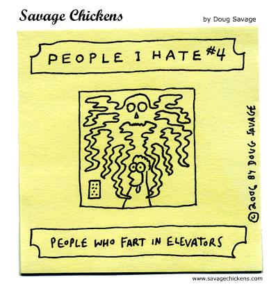 Savage Chickens - People I Hate 4