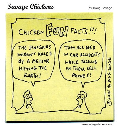 Can You Hear Me Now? Cartoon | Savage Chickens - Cartoons on ...