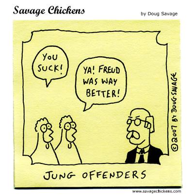 More Jung . More Freud .