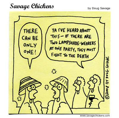 Savage Chickens - The Gathering