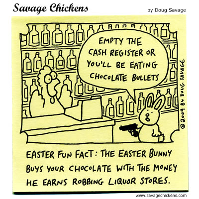 Savage Chickens - The Secret of Easter