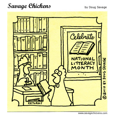 Savage Chickens - Read