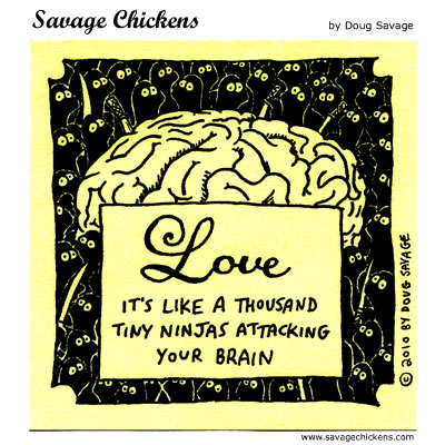Savage Chickens - Love