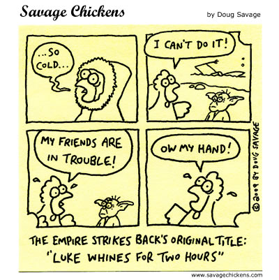 Savage Chickens - Luke