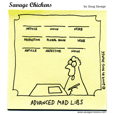 Savage Chickens - Wacky Word Fun
