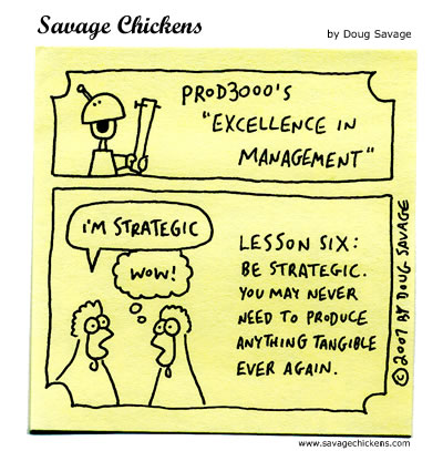 Savage Chickens - Excellence in Management 6