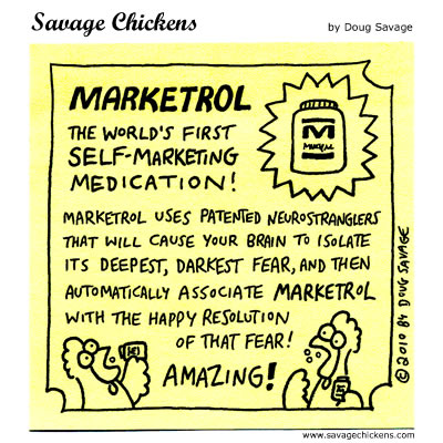 Savage Chickens - Marketrol!