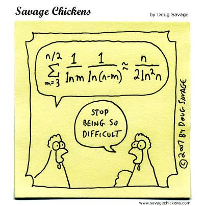 savage chickens math