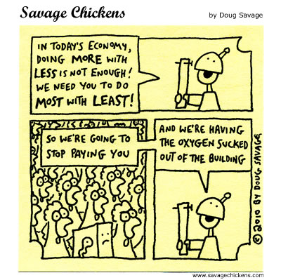 Savage Chickens - Most With Least