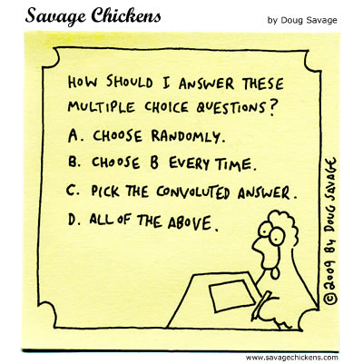 Savage Chickens - Choice