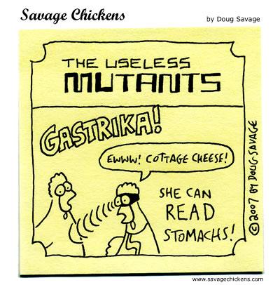 Savage Chickens - Useless Mutants 2