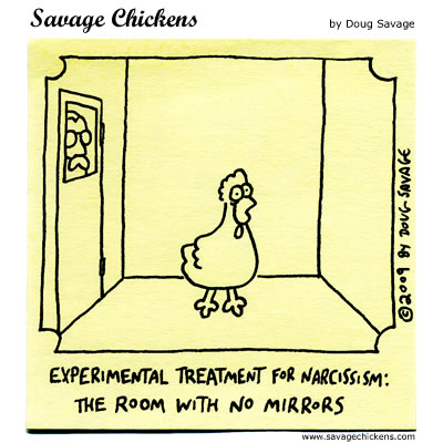 Savage Chickens - Experimental Treatment