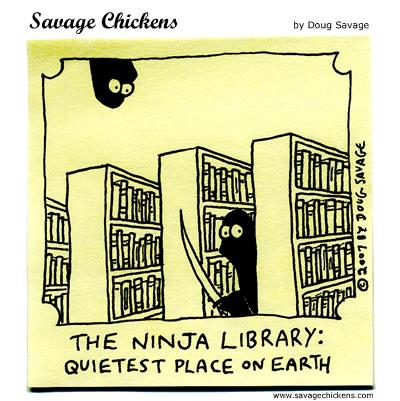 ninja library comic