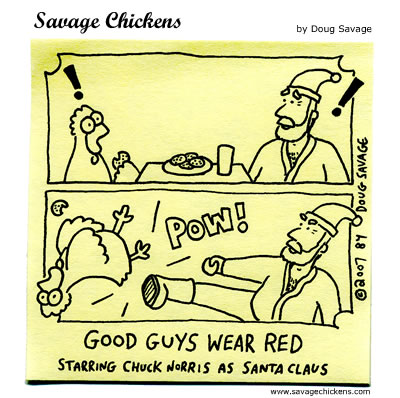 Savage Chickens - Christmas Revenge
