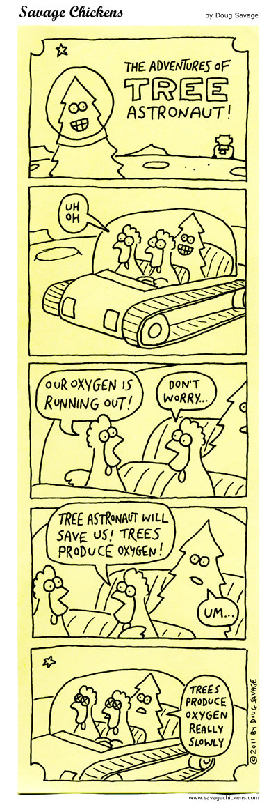Tree Astronaut to the Rescue