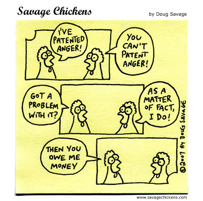 Savage Chickens - Patent