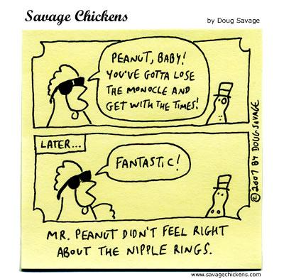 Savage Chickens - Peanut