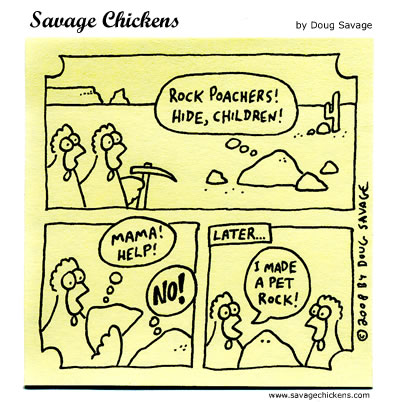 Savage Chickens - Origin Story
