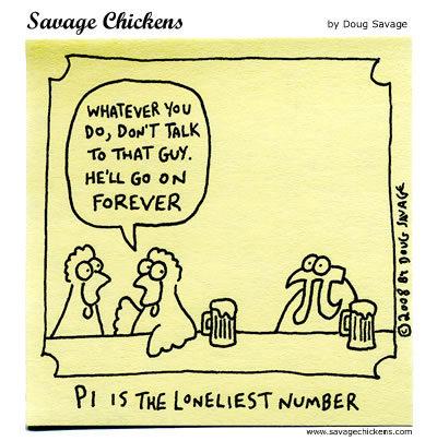 Savage Chickens - Pi