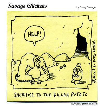 Savage Chickens - Sacrifice
