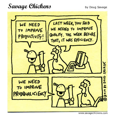 Savage Chickens - Top Priority