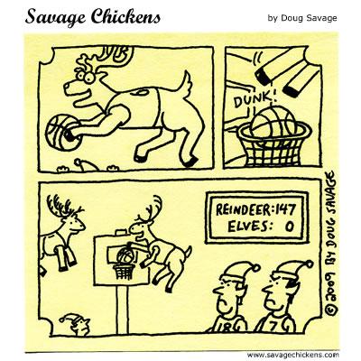 Savage Chickens - Reindeer Games