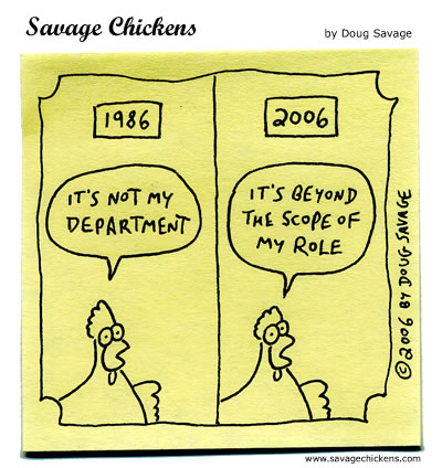 Job Description Cartoon  Savage Chickens  Cartoons On Sticky Notes