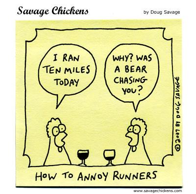 Savage Chickens - Ten Miles