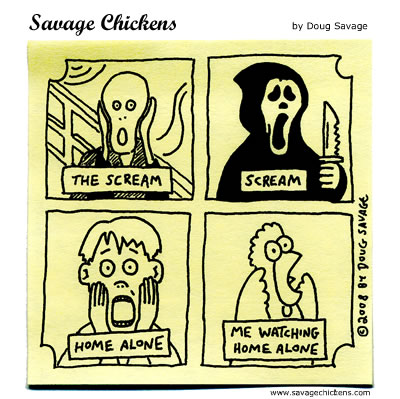 Savage Chickens - Famous Screams