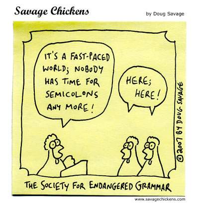 Savage Chickens - Endangered
